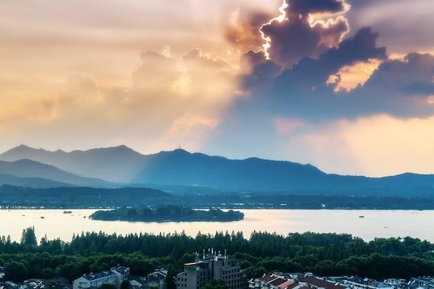 Paysage du lac de l'ouest à hangzhou