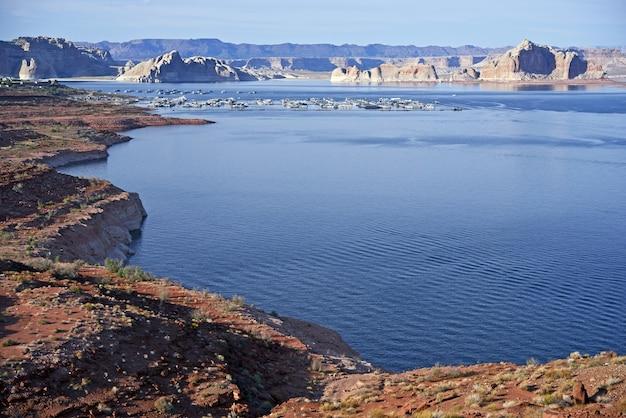 Paysage du lac powell