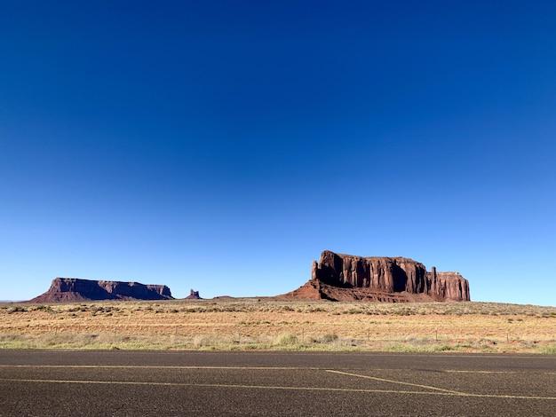 Paysage du parc national de monument valley