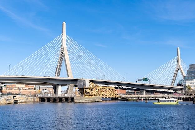 Paysage du pont de boston zakim