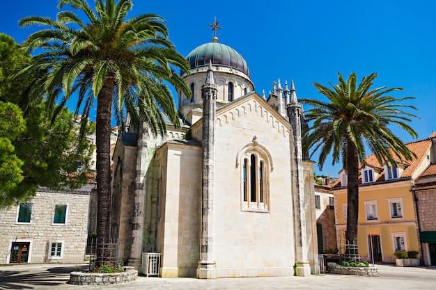 Paysage de l'église de l'archange michel