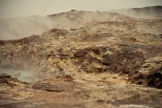 Paysage géothermique