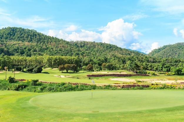 Paysage de golf