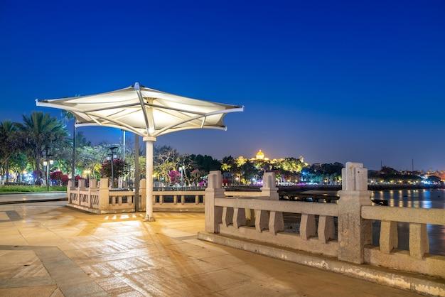 Paysage de l'île de gulangyu, xiamen, chine