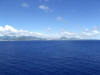 Paysage de l'île maurice waterocean