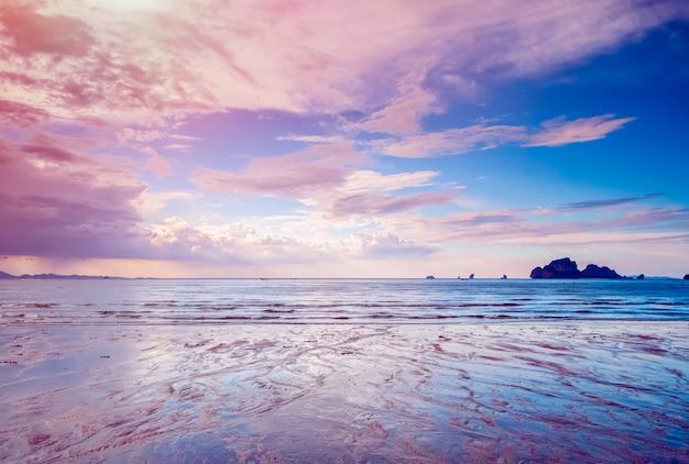 Paysage d'île tropicale