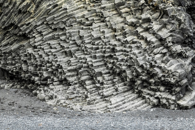Paysage d'islande de belle texture de montagne
