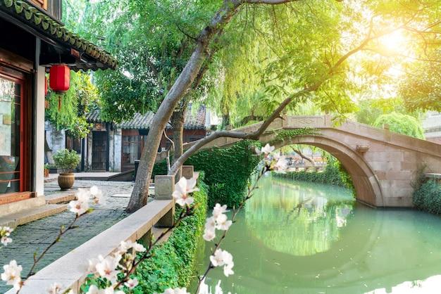 Paysage de jiangsu zhouzhuang