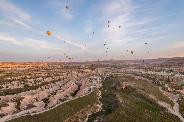 Un paysage magnifique en cappadoce