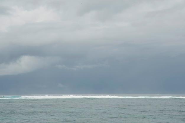 Paysage marin à bali