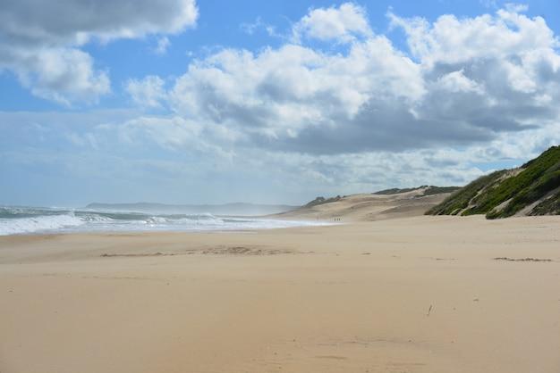 Paysage marin de la plage de port elizebeth