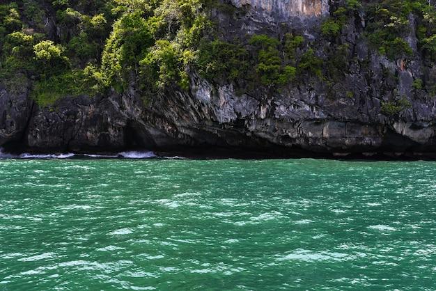 Paysage mer d'andaman, belles destinations en asie