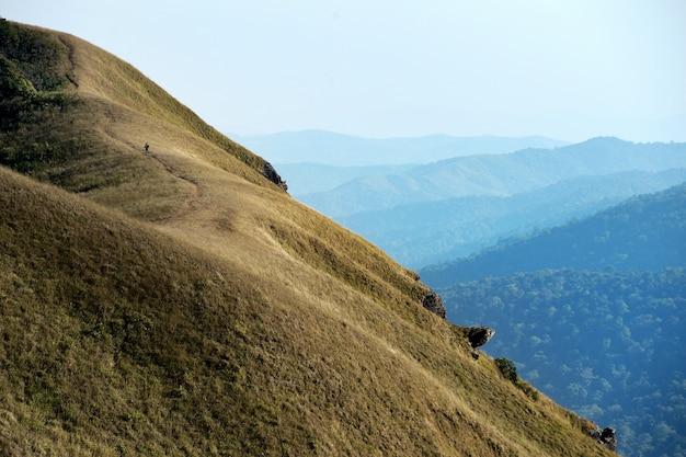 Paysage de montagne à la lumière du jour