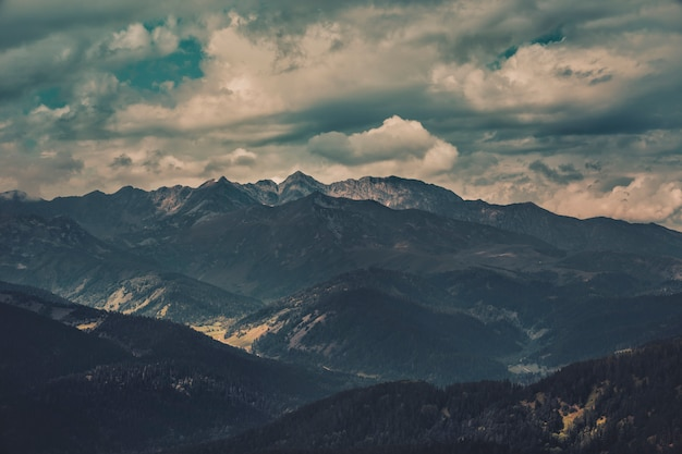 Paysage de montagne, non défini