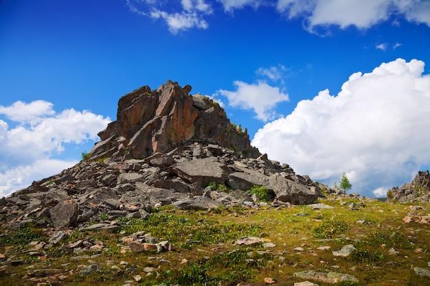 Paysage des montagnes rocheuses