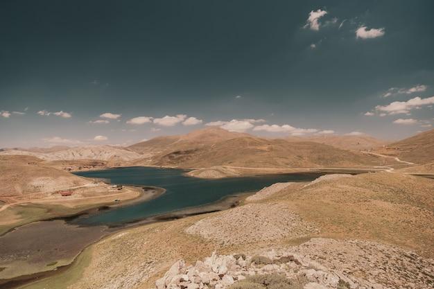 Paysage de montagnes en turquie