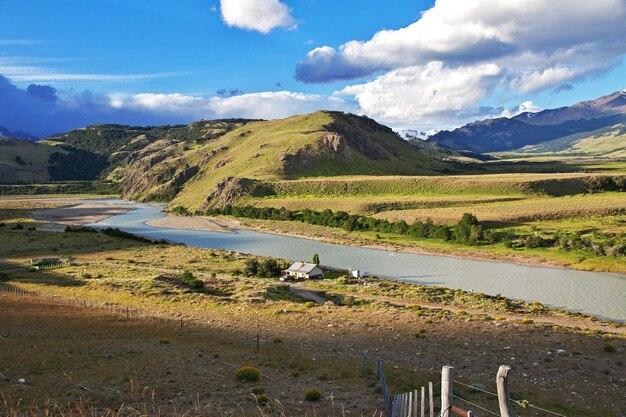 Le paysage de la patagonie, argenina