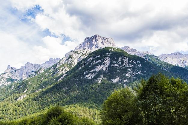 Paysage, paysage, alpes bavaroises, allemagne, europe