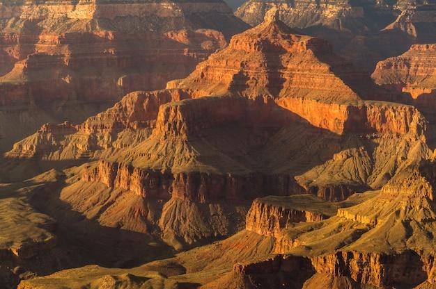Paysage pittoresque du parc national du grand canyon, south rim, arizona, états-unis