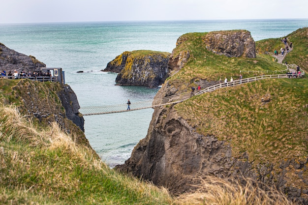 Paysage de pont en irlande