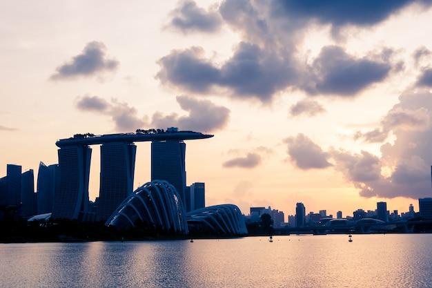 Paysage de singapour