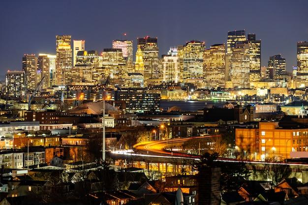 Paysage urbain de boston