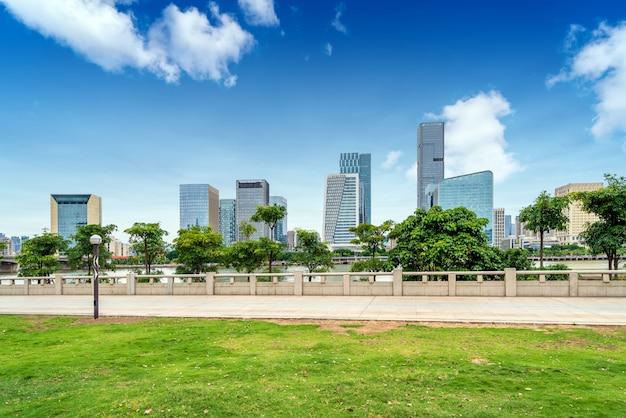 Paysage urbain de fuzhou, chine