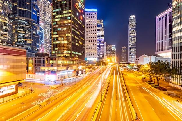 Paysage urbain de hong kong