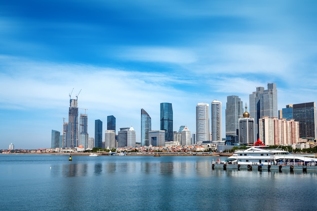Paysage urbain de qingdao, chine