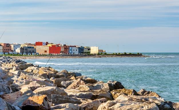 Paysage urbain de la ville d'el jadida au maroc, afrique du nord