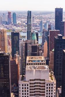 Paysage urbain de la ville de new york