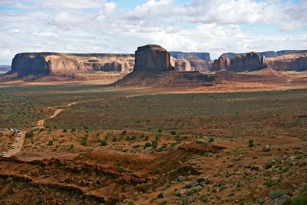 Paysage de la vallée des monuments