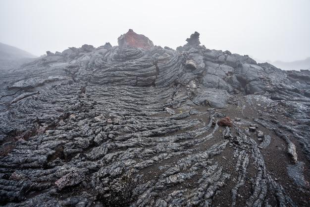 Paysage volcanique de la péninsule du kamchatka