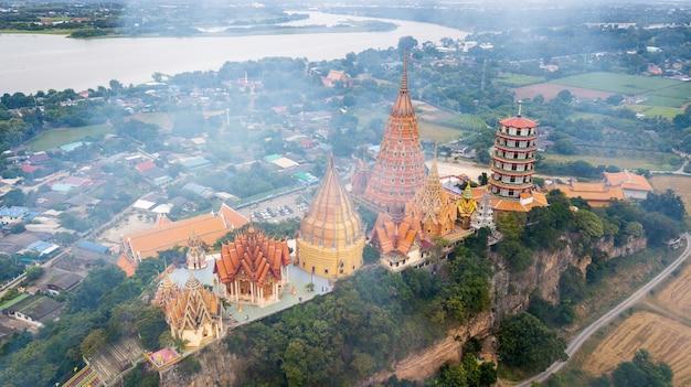 Paysage de wat tham suea, kanchanaburi thaïlande