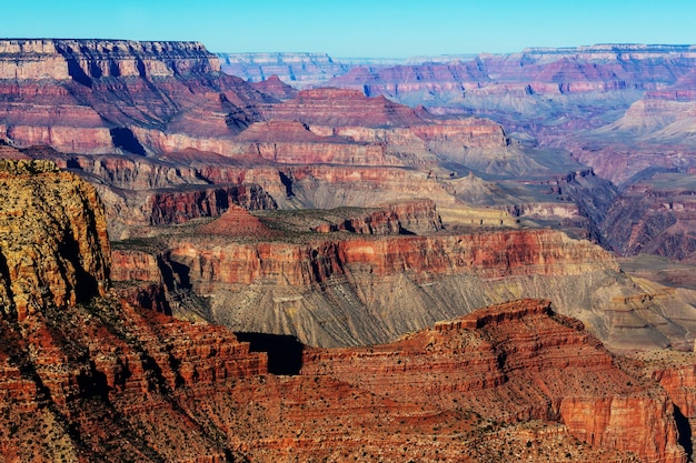 Paysages pittoresques du grand canyon