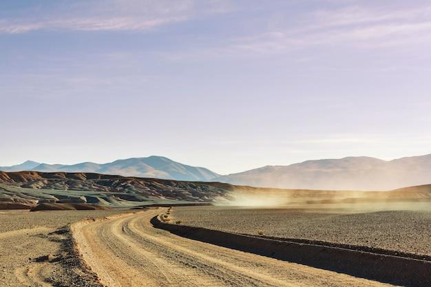 Paysages pittoresques du nord de l'argentine