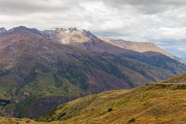 Paysages Pittoresques De L'île Du Sud Nouvelle-zélande Photo Premium