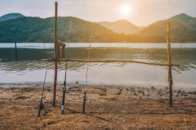 Pêche en rivière activités de vacances