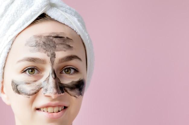 Peeling cosmétique de beauté