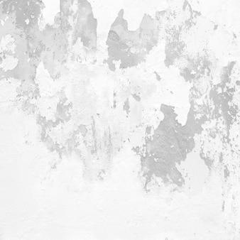 Peeling mur de ciment blanc