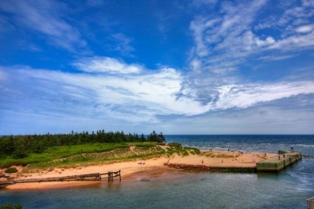 Pei plage paysage hdr