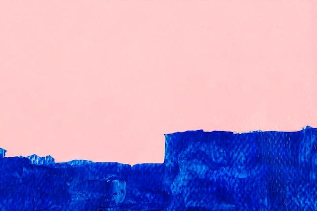 Peindre le fond d'écran de coup de pinceau, bordure de coup de pinceau bleu