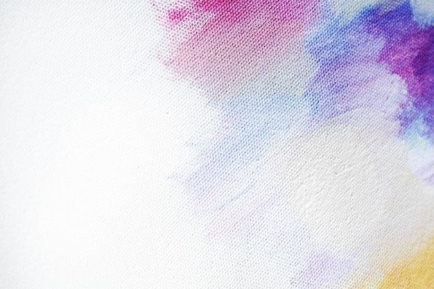 Peindre sur une toile