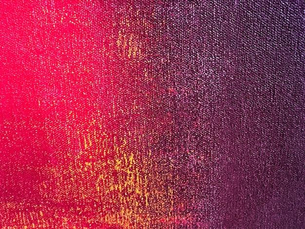 Peinture abstraite art fond couleurs rouge et violet.