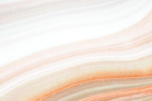 Peinture acrylique fluide colorée