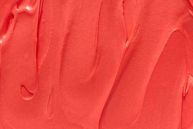 Peinture acrylique monochrome vue de dessus