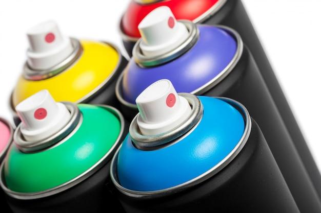 Peinture en aérosol peut