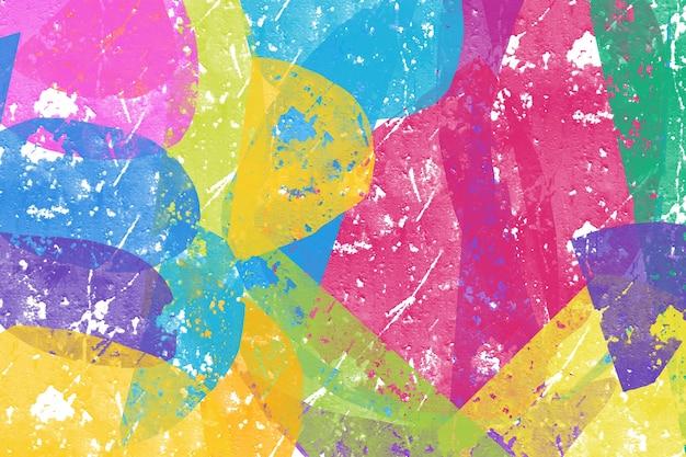 Peinture aquarelle de couleur de textures irisées comme le style ombre pastel de fond dégradé