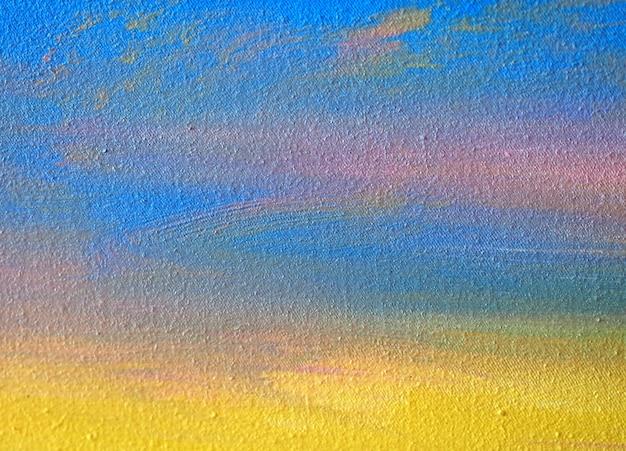 Peinture aquarelle sur papier abstrait avec texture