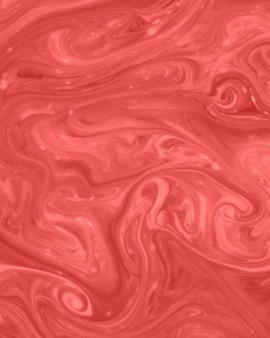 Peinture d'art de conception de texture de marbre mélangé rouge et rose
